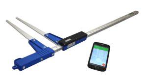 Średnicomierz elektroniczny Codimex E1 ze smartfonem