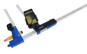 Średnicomierz elektroniczny Codimex E1-Log do pomiaru kłód