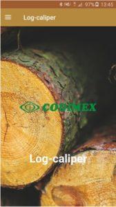 Aplikacja leśna Log-caliper