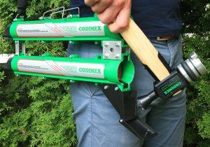 Tuszownica T1 z wkładem barwiącym i automatyczny podajnik Codimex